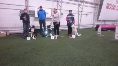 Born to Win Warrior Shooter 1 place with 95 points from a tracking competition in Estonia 19