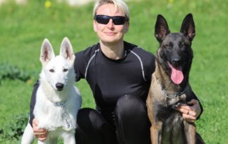 BTWW - Born to Win Warrior White Swiss Shepherd & Belgian Shepherd Malinois 1