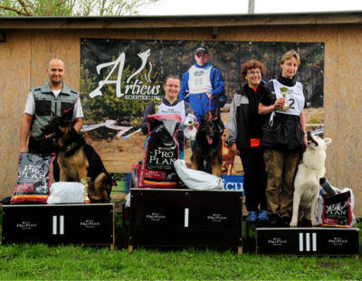 Born to Win Warrior Shooter 1 place from a tracking competition 51