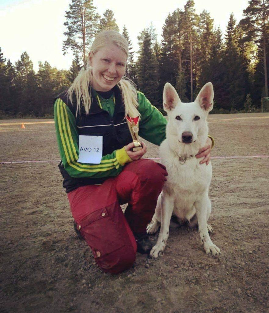 Born to Win White Oodi in Finland TOKO AVO1 :) 2