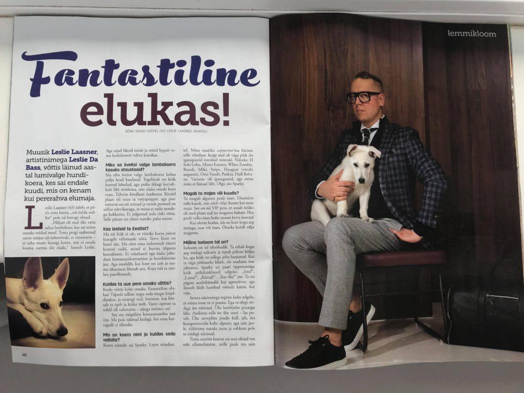 White Shepherd Puppy BTWW Zlatan got into Celebrity News 1