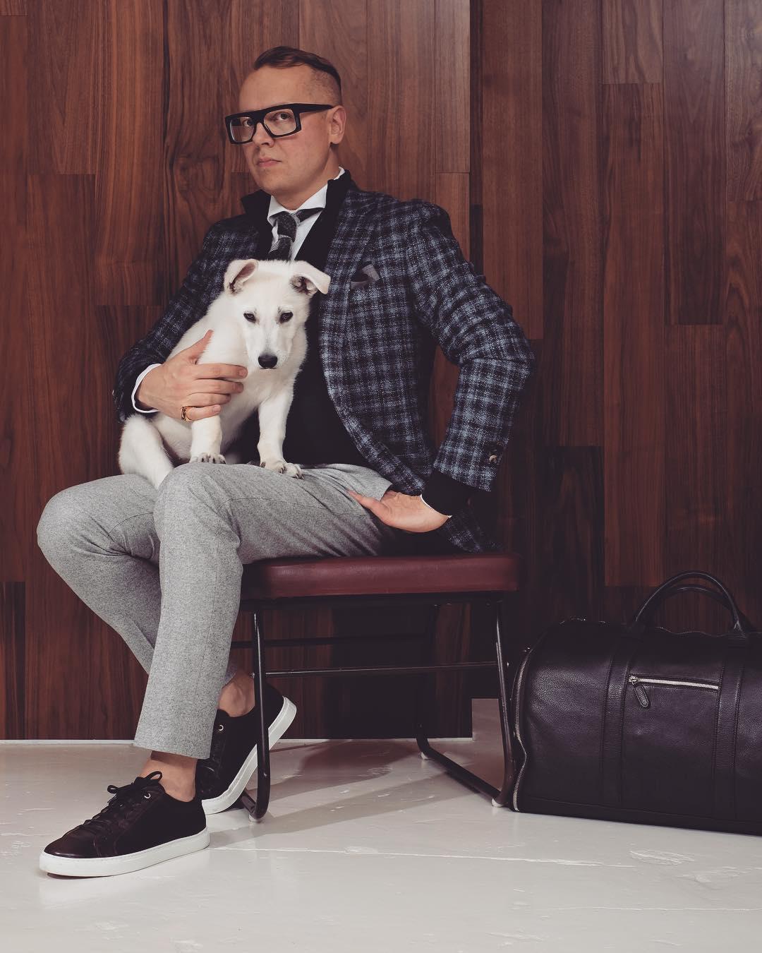 White Shepherd Puppy BTWW Zlatan got into Celebrity News 50