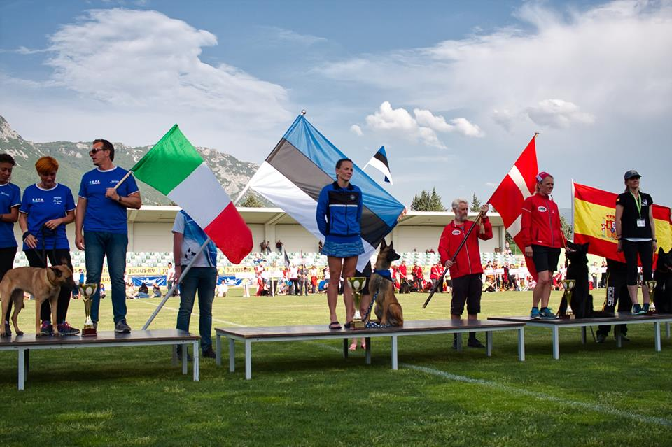 Marje Piiroja, Estonia 3rd time FMBB Agility World Champion! 1
