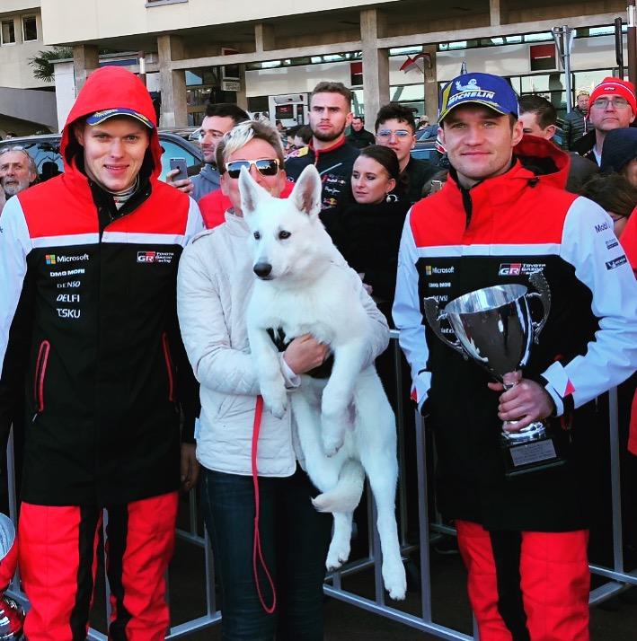 Ott Tänak & Martin Järveoja 3 place in Monte-Carlo Rally 2019 3