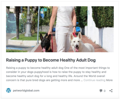 How To Raise Puppy Healthy Dog